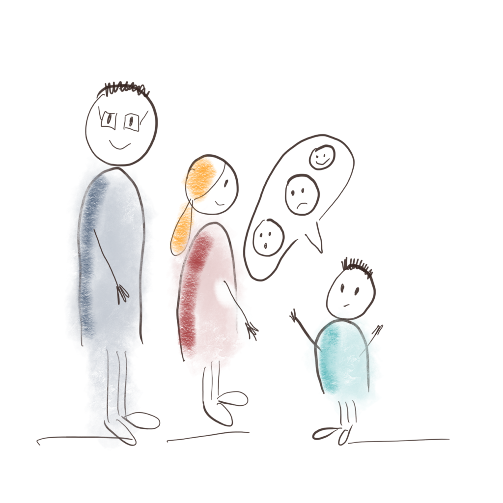 Forklaring til barnet